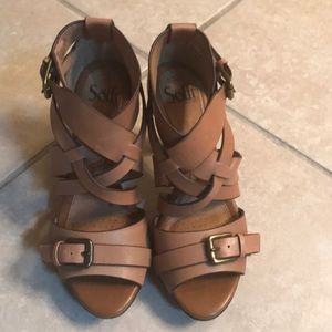 Sofft sandals.  Brand new never worn.  Size 6